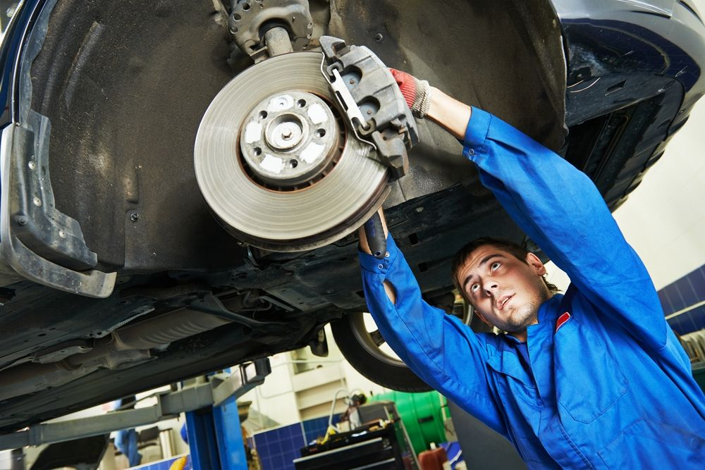 Слесарный ремонт автомобилей | Технический центр «Автопрофи»